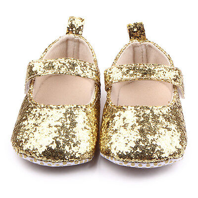 BNWT Infant Baby Girls Silver Sequin Dress Shoes 0-6-12-18 months size1//4//5