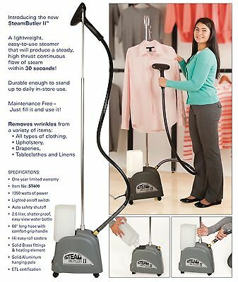New Steam Butler 2, Powerful Commercial Clothing Steamer