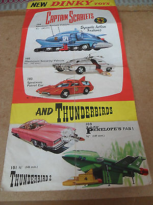 DINKY TOY CATALOGUE c1966 UK EDITION V GOOD CONDITION FOR AGE