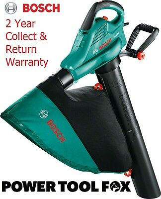 3000W Bosch ALS30 Garden Blow & Vacuum Corded Electric 06008A1170 3165140815185#