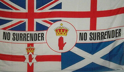 Ulster Flag No Surrender Red Hand Of Ulster