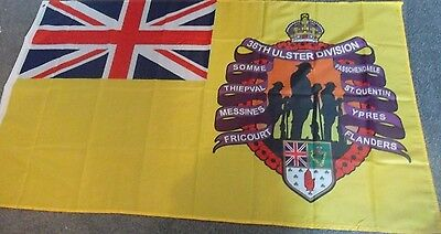 Ulster 36Th Division Flag