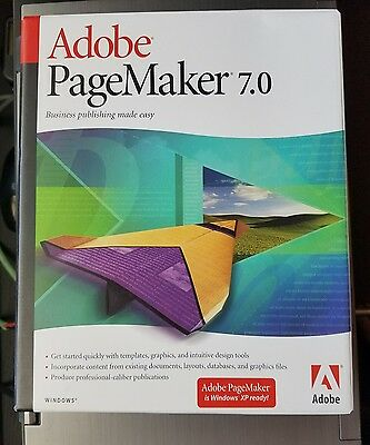 Adobe PageMaker 7.0  ** with serial number **