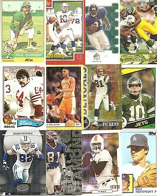 Huge Lot (100) Diff University of Tennessee Volunteers Alum Crds NODUPES Manning