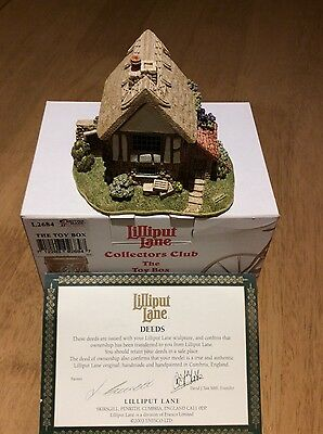 Lilliput Lane - The Toy Box Collectors Club