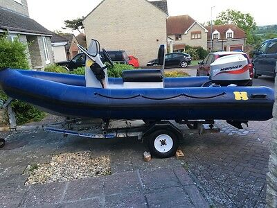 Humber Assault RIB 4.7m 50hp Outboard