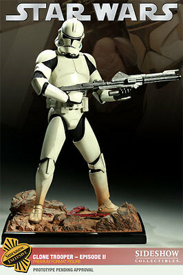 Clone Trooper Premium Format EX SIdeshow Collectibles Star Wars