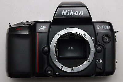 NIKON F801S N8008s SLR BODY - WORKS WITH BOTH AF AND MF LENSES