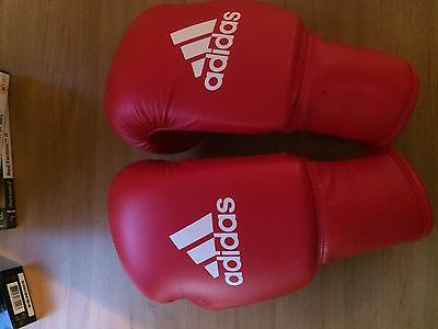 Adidas Boxing Gloves 6oz Red