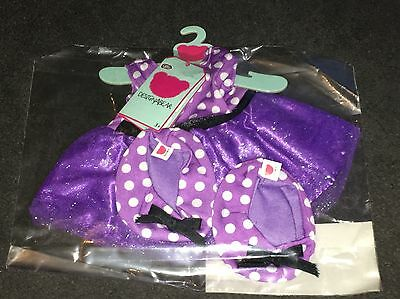 Designabear Purple Prom Dress Outfit , Outfit Only - BRAND NEW