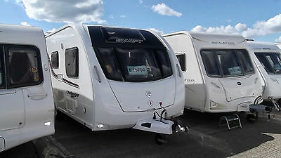 Swift Challenger Sport 544, 2015 Model, Single Axle, 4 Berth, Fixed Bed!!!