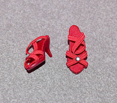 """Tonner 10"""" Tiny Kitty Debut Red Shoes Fit Simone Rouge"""