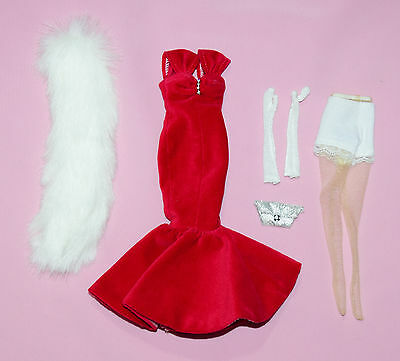 """Tonner 10"""" Tiny Kitty Debut Red Velvet Outfit Fits Simone Rouge"""