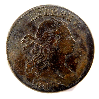 1807 Draped Bust Cent S-274 R-2