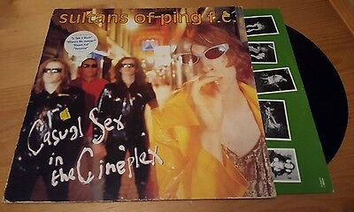 Sultans of Ping F.C - Casual sex in the Cineplex LP Vinyl Album Original