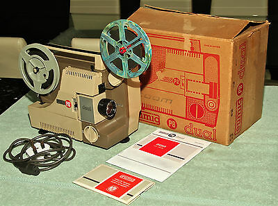 EUMIG P8 DUAL projector & film - SERVICED