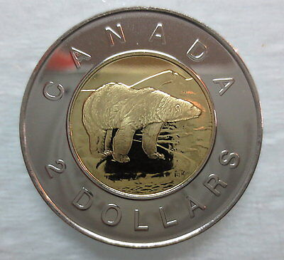 1998 Canada Toonie Proof-Like Two Dollar Coin