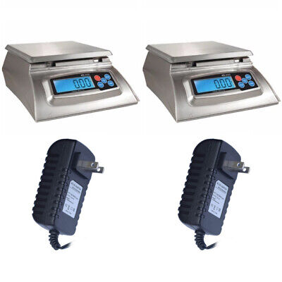 My Weigh KD-8000 Kitchen And Craft Digital Scale + My Weigh AC Adapter - 2-Pack