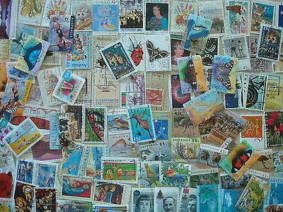 1990s - Approx 100 Used Australian Decimal Stamps  - Assorted lot