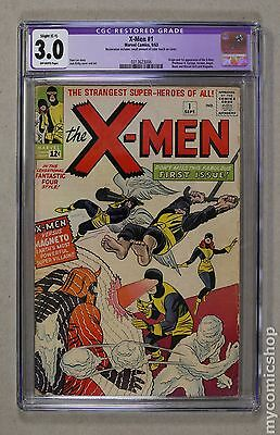 Uncanny X-Men (1963 1st Series) #1 CGC 3.0 RESTORED 0313623006