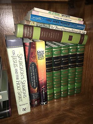 Lot of 13 books by C.H. Spurgeon