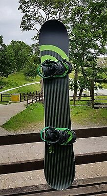 Signal Omin 163 Snowboard Freeride/All mountain with Union Force Bindings