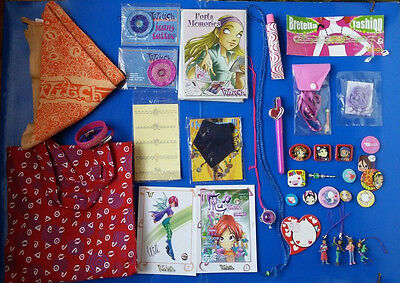 Disney Witch magazine lotto gadget+13 spille special lot pins Will Cornelia Irma