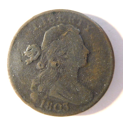 1803 Draped Bust Cent S-256 R-3