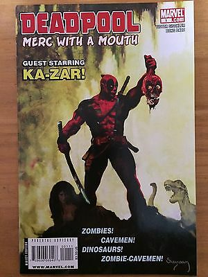 Deadpool Merc With A Mouth 1 (2009) Savage Tales Homage Cover NM