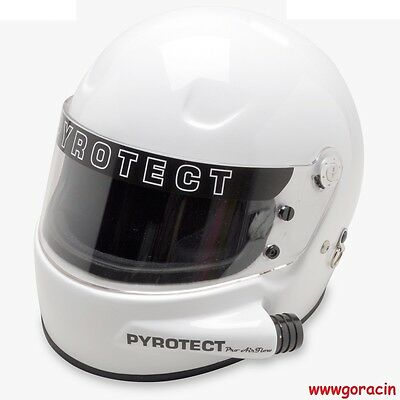 Pyrotect Helmet,SA2015 Pro Airflow Side Forced Air Helmet Hans Device Ready ~