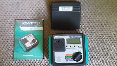 REDUCED -- PAT TESTER -- KEWTECH KT ( Portable Appliance Tester ) RRP £550.00
