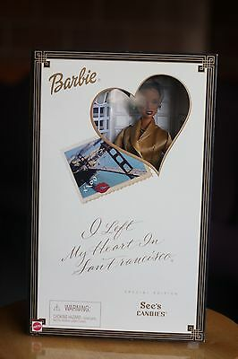 MATTEL Barbie I Left My Heart In San Francisco See's Candies Special Edition AA