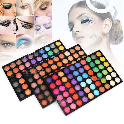180 Color EyeShadow 3 Palettes Shimmer Cosmetic DIY PRO Makeup Set NEW AU STOCK