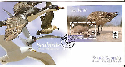 South Georgia & South Sandwich Islands First Day Cover  5