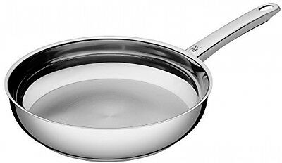 WMF Frying Pan Uncoated 24 Cm Profi Pouring Rim Stainless Steel Handle Steel