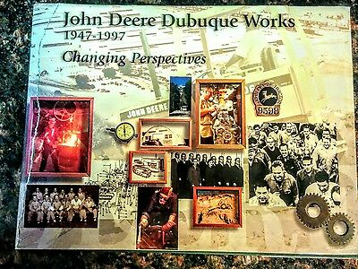 John Deere Dubuque Works 50 Year Anniversary Book New Condition
