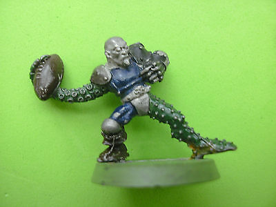 Blood Bowl Chaos Star Player Lewdgrip Whiparm metal miniature 2nd ed. OOP