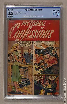 Pictorial Confessions (1949) #3 CBCS 3.5 RESTORED