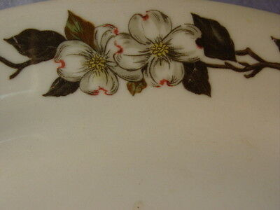 Vintage Shenango China Dogwood Flowers Pattern Platter