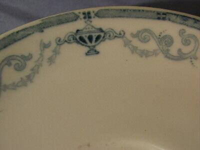Vintage Scammell's Trenton China Derby Blue Pattern Saucer