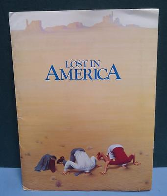 LOST IN AMERICA Press Kit w/Photos & Notes Albert Brooks Julie Hagerty comedy