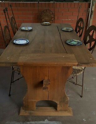 Recycled Solid Timber Dining Table - Mexican Import.