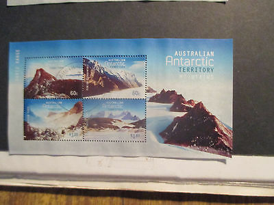 No-1-2013 -AAT  MOUNTAINS  MINI  SHEET ---USED  --TOPS  -A1