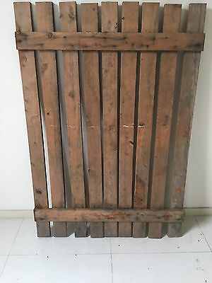 WOODEN SLAT PALING HOUSE GATE 1100 x 760 mm(W)
