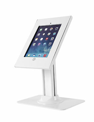"""Tablet touch pad Samsung Galaxy 10"""" screen Kiosk Desk Table Mount  Anti-Theft"""