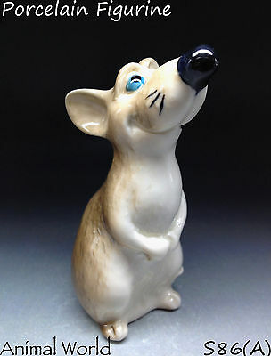 Porcelain Figurine Rat Russian handmade souvenirs Mouse Handmade high quality