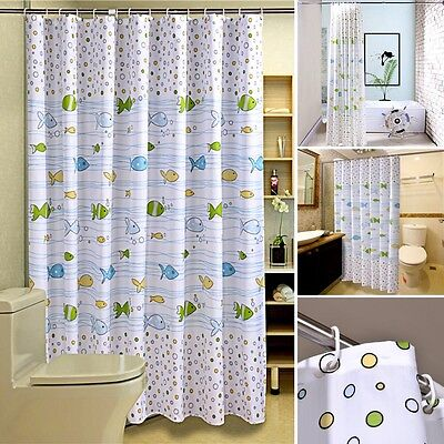 Great Fabric Shower Curtain, Extra Wide And Long, 240 X 200/200 X 200/200X180CM