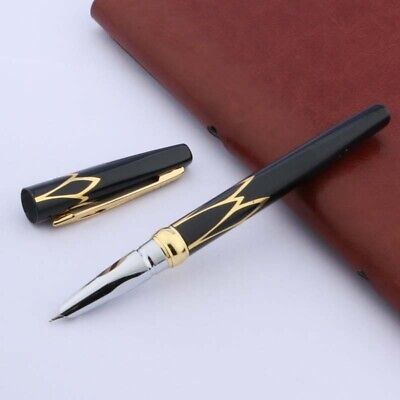 hero Black golden new accessories F Nib Fountain Pen