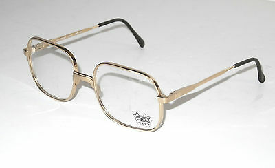 Luxottica Real Vintage Eyeglasses Montatura Occhiali Mod.1055 Gep 18k Italy New
