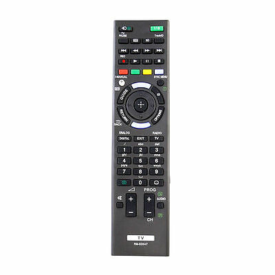 New Replace RM-ED047 Remote control for Sony Bravia TV KDL-32BX420 KDL-32BX421